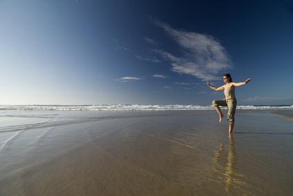 beach taichi